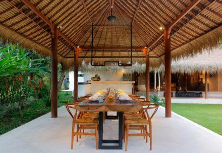 Dining Room by Bali Architects - Satya Puri Studio