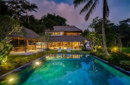 Night Bali Architectural Traditional by Satya Puri Studio